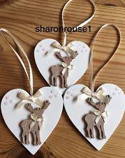 shabby chic christmas decorations ebay