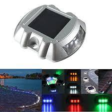 solar led dock lights solmore solar led dock path deck road stud maker lights waterproof