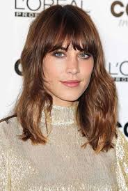 the hairstyle the swag alexa chung swag with fringed bangs hairstyles trend alexa chung