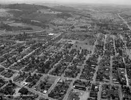 Map Of Portland Or Area by Aerial Vintage Portland