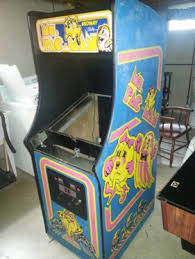 Ms Pacman Cabinet Restoring A Galaga Arcade Machine