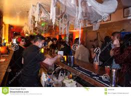 halloween event new york ny october 31 general atmosphere at the fashion party
