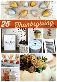 great ideas 25 diy thanksgiving ideas part three