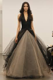 wedding dress vera wang vera wang black wedding dresses pictures popsugar fashion