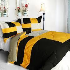 King Black Comforter Set Bedroom Yellow And Black Comforter Set Sets Queen Grey Yokamon Info