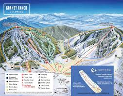 Map Of Colorado Ski Resorts by Grand County Downhill Ski Maps Free Guestguide Publications