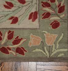 Area Rug Pottery Barn by Pottery Barn Adeline Sage Wool Area Rug Ebth