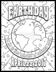banner coloring pages earth day coloring page card or banner design in 1960s