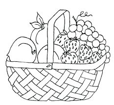 printable picnic basket coloring pages food sheets white house