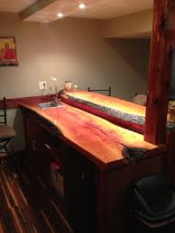 Slab Wood Bar Top James Risinger Live Edge Cherry Bar Top Bagdad Lumber Sawmill
