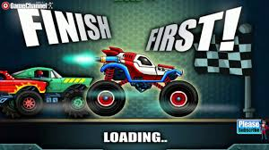 monster trucks racing games monsters u0027 wheels 2 car skill racing monster truck videos
