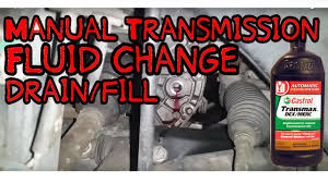 changing manual transmission fluid 2005 saturn ion youtube