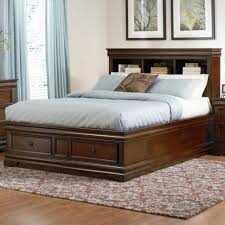 Mattress On Floor Design Ideas by Bedroom Lovely King Platform With Storage Headboard On Home
