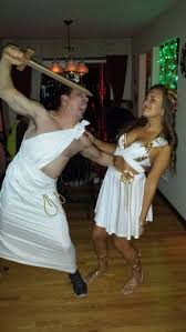 Athena Halloween Costume Couples Halloween Costume Ideas Greek Goddess Toga Gold Greek