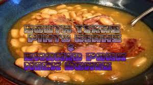 south texas pinto beans u0026 smoked pork neck bones youtube
