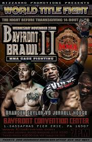 thanksgiving fight title fight headlines bayfront brawl ii thanksgiving eve fight