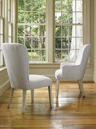 oyster baxter upholstered arm chair lexington home brands