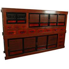 rare antique japanese kitchen cabinet mizuya meiji period at