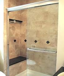 Stand Up Bathroom Shower Stand Up Showers La Custom Shower Traditional Bathroom Stand Up