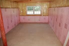 How To Insulate Basement Walls by Rigid Foam Basement Insulation Hanging Basement Insulation