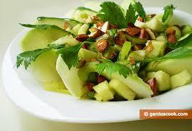 insalata di sedano e mele insalata di mela verde e sedano alimentazione dietetica