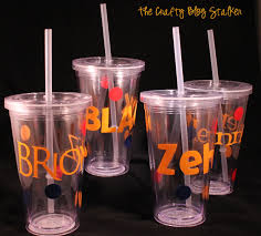 new teacher gift straw cup the crafty blog stalker