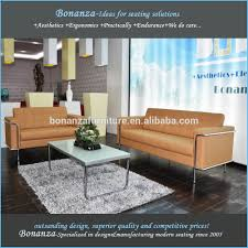 Modern Office Sofa Designs by Modern Leather Office Sofa Set 8090 Modern Design Office Sofa