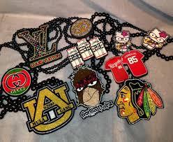 personalized pendants personalized bighead custom wooden pendant chain