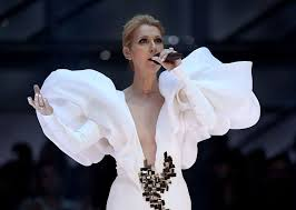 selin dion celine dion is a mutton sleeved goddess at the billboard music awards