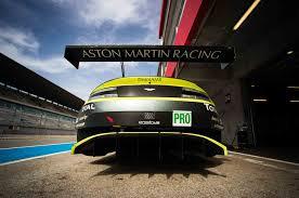 aston martin racing vintage first laps aston martin racing v8 vantage gte automobile magazine