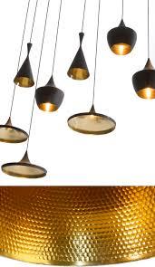 Tom Dixon Copper Pendant Light Beat Pendant Light Black Copper From Tom Dixon Beat Lights