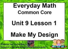 pattern games kindergarten smartboard everyday math 4 edm4 common core edition kindergarten 9 1 make my