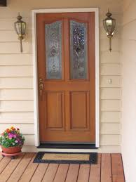 door frame design ideas replacement with unique and black handle