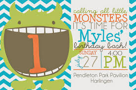 monster invitation mrs ayala u0027s kinder fun monster party