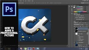 Proffesional Profile Photoshop Cs6 How To Make A Professional Profile Picture For