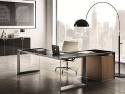 Steel Office Desks Glass And Steel Office Desks Archiproducts