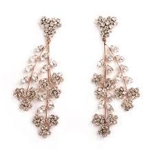 Gunmetal Chandelier Earrings Violetta Chandelier Earrings