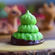 paleo peppermint meringue christmas trees u2022 great food and lifestyle