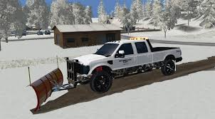 Led Light Bar Truck F250 Plow Truck With Led Light Bar V1 Farming Simulator 2015