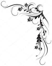 decorative corner ornament stock vector marisha 4035390