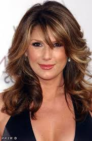 hairstyles for hair just past the shoulders long hair with bangs over 40 just past shoulders with layers mid