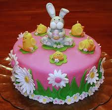 Decorate Easter Bunny Cake by Easter Bunny And Chicks Cake Cake Cover German Chocolate And