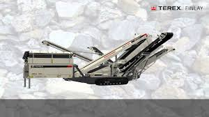terex finlay 684 inclined screener youtube