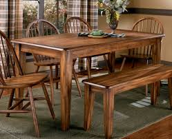 farmhouse table two tone marsilona dining room table view 1 ashley