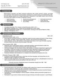 resume with education cv educational background