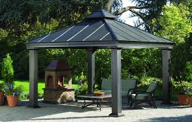 Gazebo For Patio Gazebo Design Outstanding Metal Patio Gazebo Home Depot Gazebos