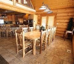 Log Dining Room Table Aspen Log Dining Table Rustic Log Furniture Of Utah