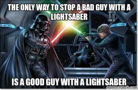 Lightsaber Meme - image jpg