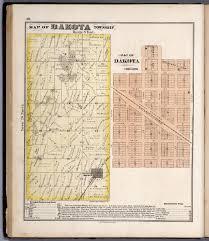 Geneva Illinois Map by Dakota Township Stephenson County Illinois Dakota Illinois