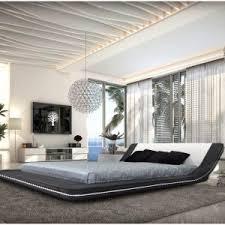 bedroom full size modern platform bed frame roma modern platform